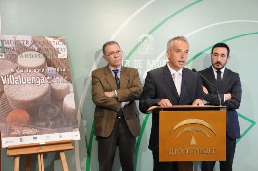 presentación de la VI Muestra Turística del Queso Artesanal de Andalucía,