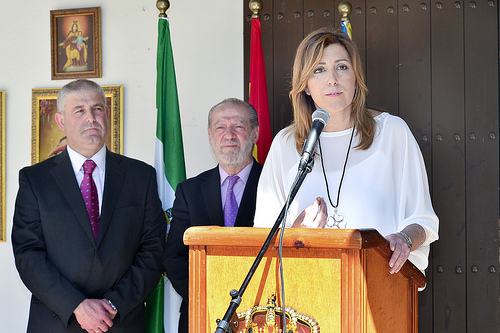 Susana Diaz en Olivares