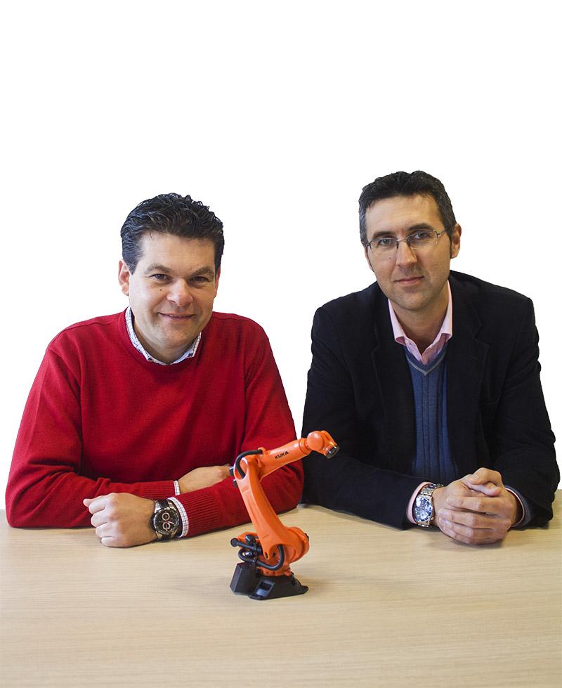 Carlos Páez y José Antonio Ruiz, de Quinta Ingeniería