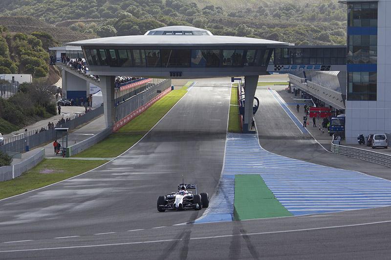 Los entrenamientos de Fórmula 1 suponen ingresos extraordinarios para el Circuito de Jerez en la nueva etapa de gestión. Foto JC Sánchez