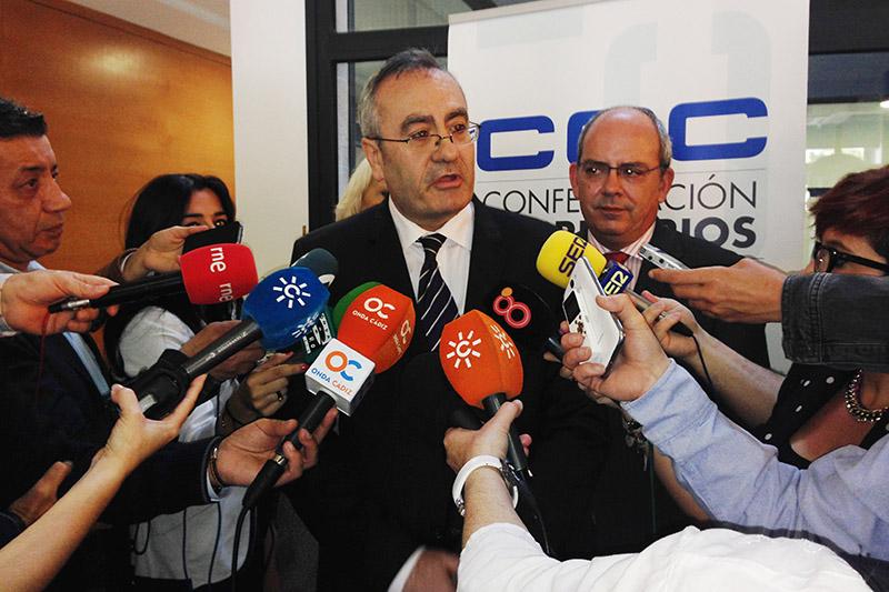 José Llorca, tras la jornada logística de la CEC. Foto: APBC