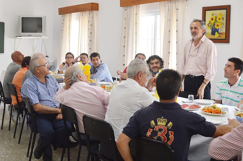 Visita a las instalaciones de Proyecto Hombre en Jerez. Foto: EI