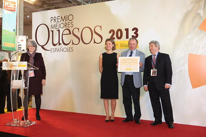 Quesos Payoyo de Villaluenga recibió uno de los premios del Ministerio de Agricultura al mejor queso en 2013. Foto: MAGRAMA