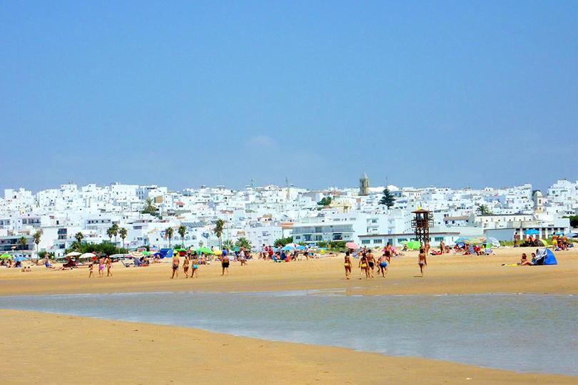 Playa de los Bateles, en Conil de la Frontera. Foto: DC