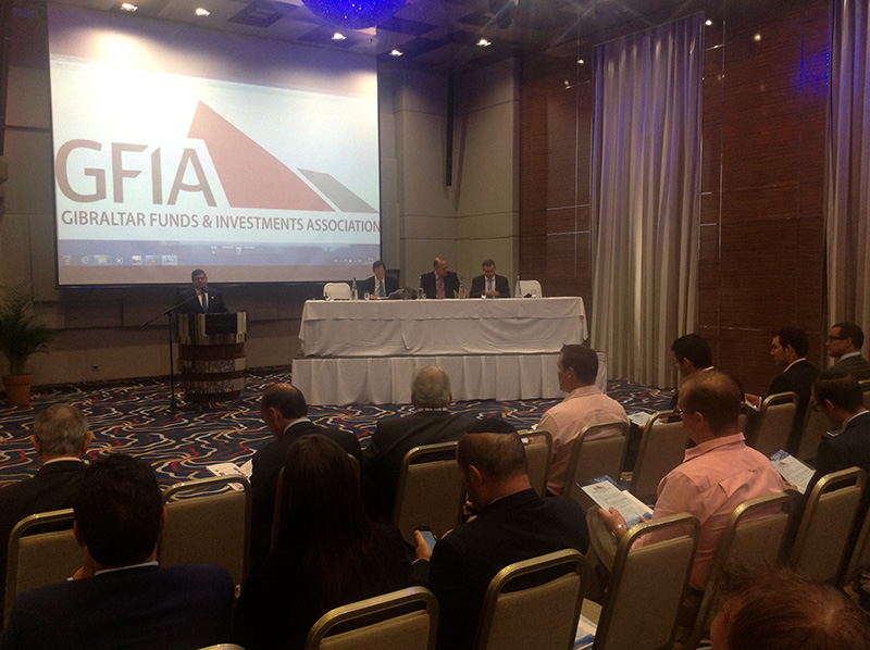 Un momento de la apertura del seminario de la GFIA, en el Sunborn Hotel. Foto: A.Martínez