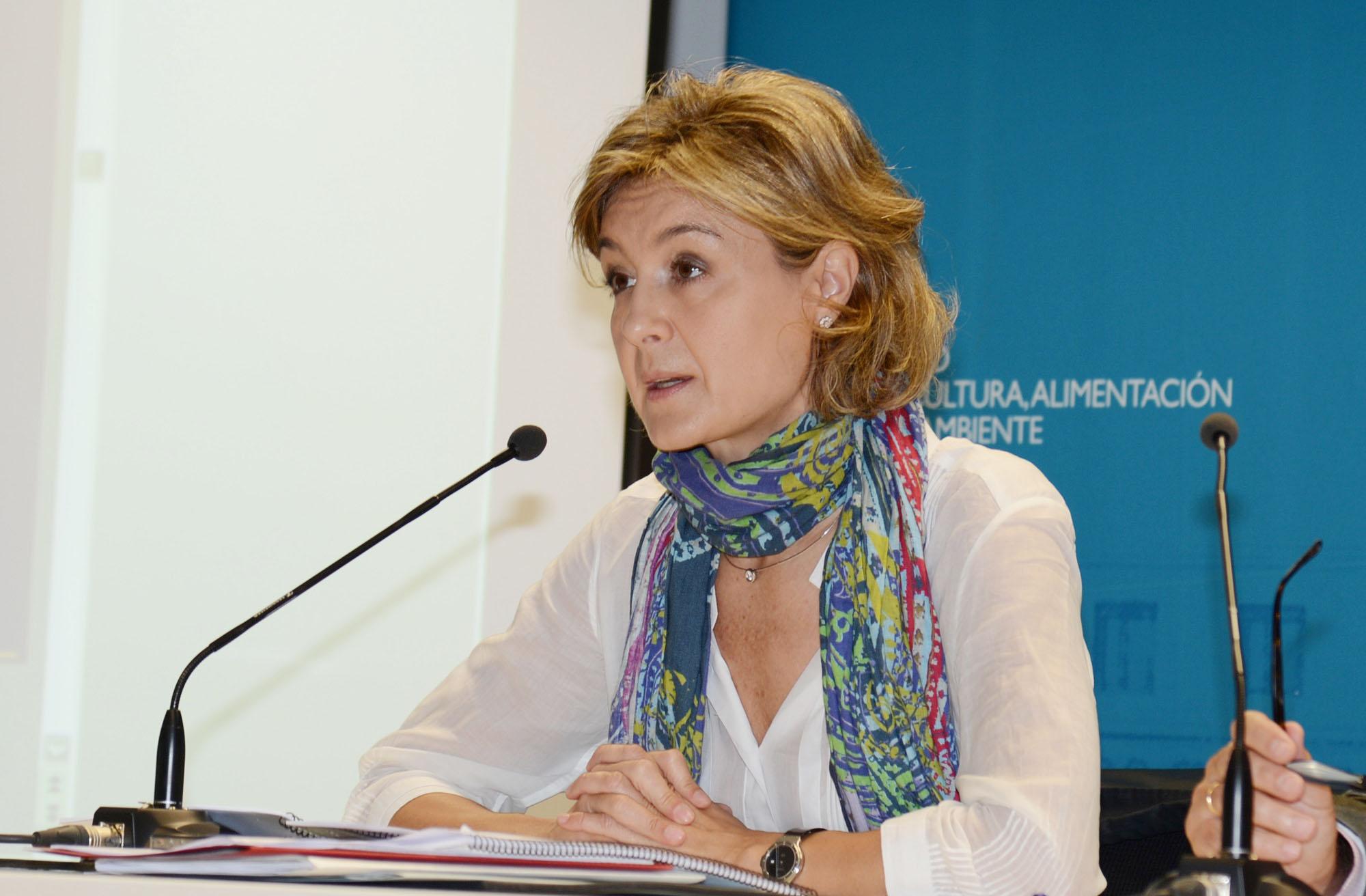 La ministra Isabel G. Tejerina