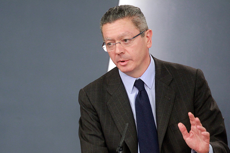 Alberto Ruiz Gallardón. Foto: Moncloa