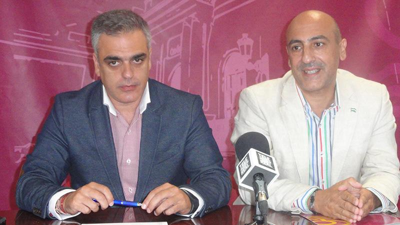 Blas Hervías y José Antonio Ayuso