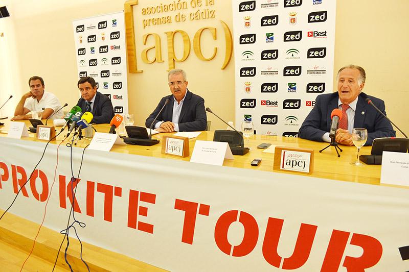 Presentación del mundial en la sede de la APC de Cádiz. Foto: AT