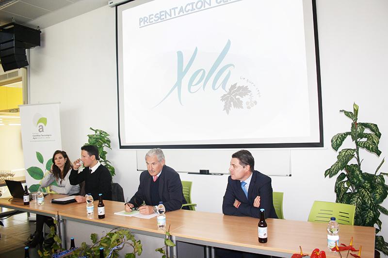 Juan Carlos Racero, Francisco Cáliz, Miguel Moncayo y Ana Isabel Tirado en el PCTA. Foto: EI