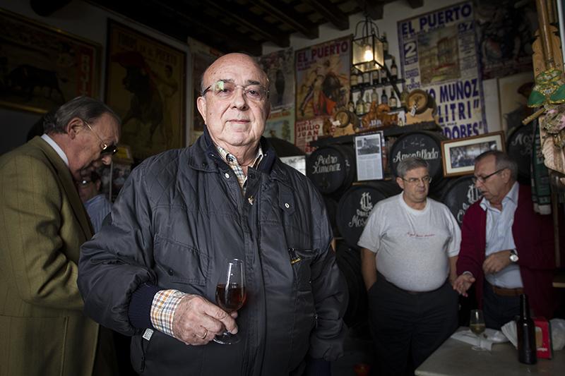 Juan Carlos de Terry en su última visita a España. Foto: JC Sánchez