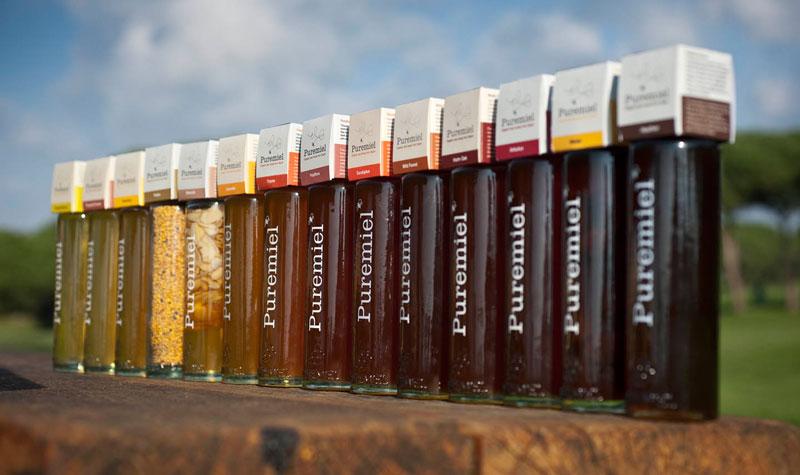 Una de las empresas que tiene producción y envasado propio con distintos tipos de miel. Foto: EI
