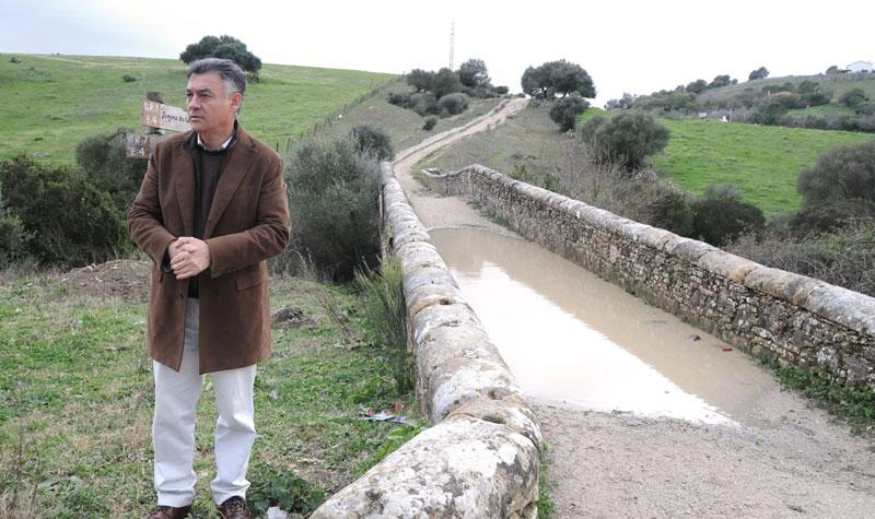 El delegado territorial de Agricultura, Pesca y Medio Ambiente. Federico Fernández. Foto: JA