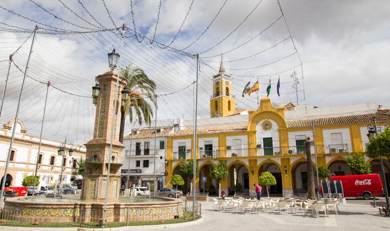 Villamartín, una de las localidades beneficiadas por las subvenciones del GDR. Foto: JC Sánchez