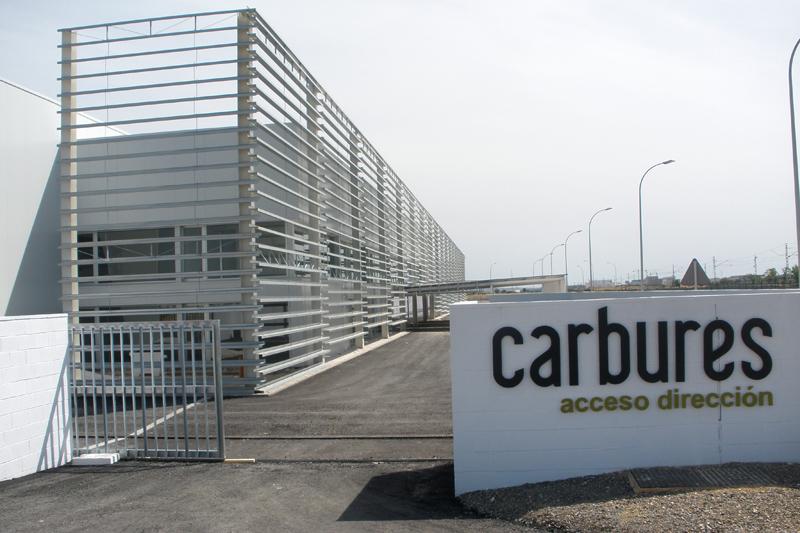 Instalaciones de Carbures en el Aeropuerto de Jerez. Foto: EI