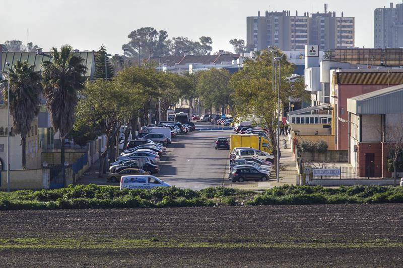 Espacio productivo en Jerez. Foto: JC Sánchez