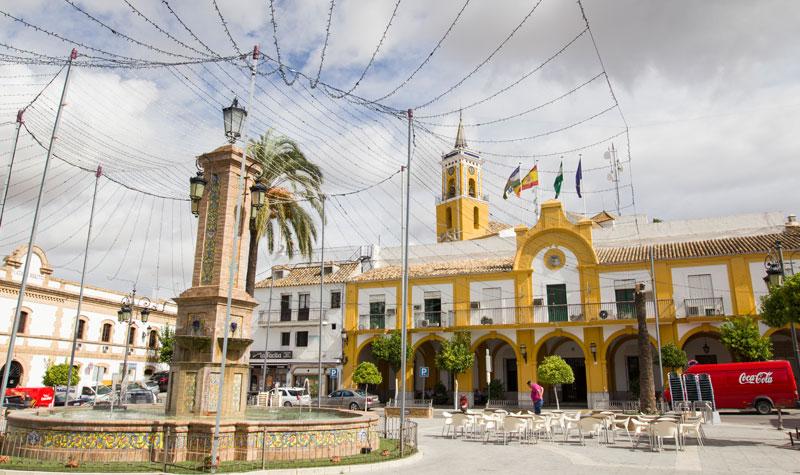 Villamartín, una de las localidades beneficiadas por las subvenciones del GDR