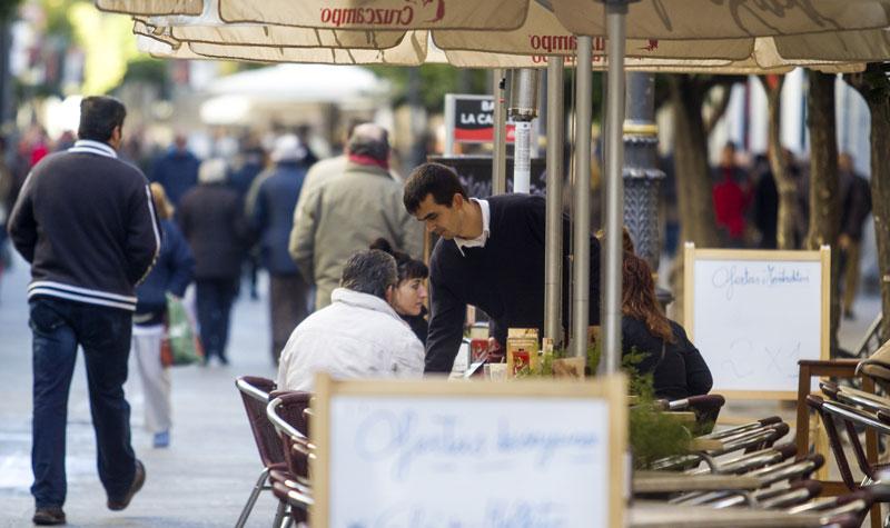 El sector servicios el de mayor crecimiento. Foto: JC Sánchez