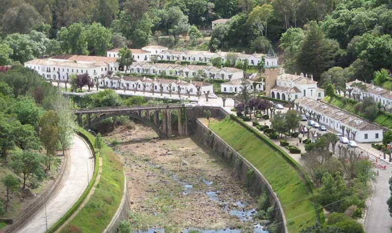 Vista panorámica del poblado del pantano de Los Hurones.. Foto: JC Sánchez
