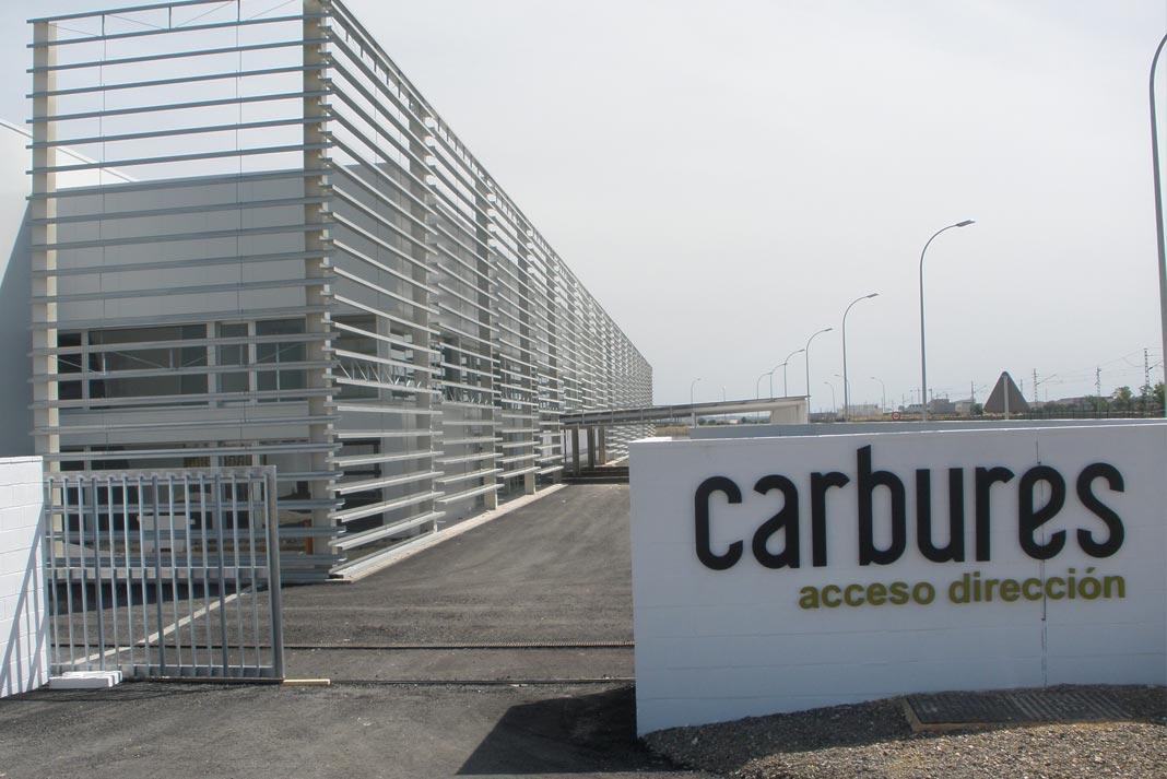 Instalaciones de Carbures en Jerez de la Frontera.