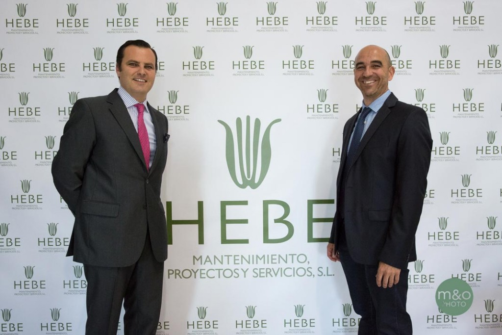 Pablo Mateos y Javier Flores, en la fiesta del X aniversario