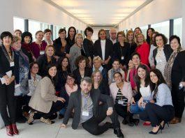Participantes en el III Encuentro de Mujeres Imparables, Pontevedra.