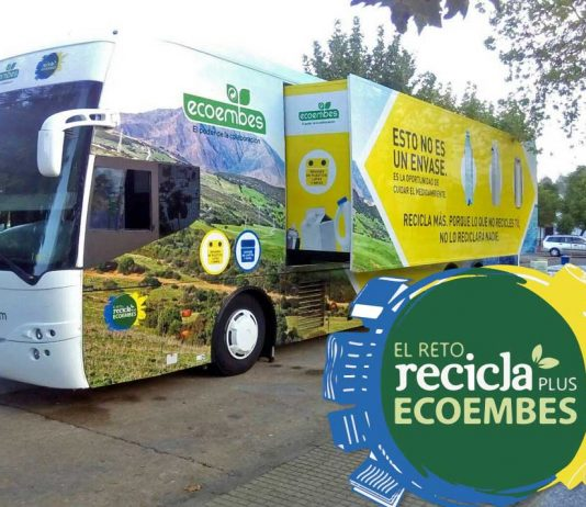 Autobús del Reto Reciclaplus
